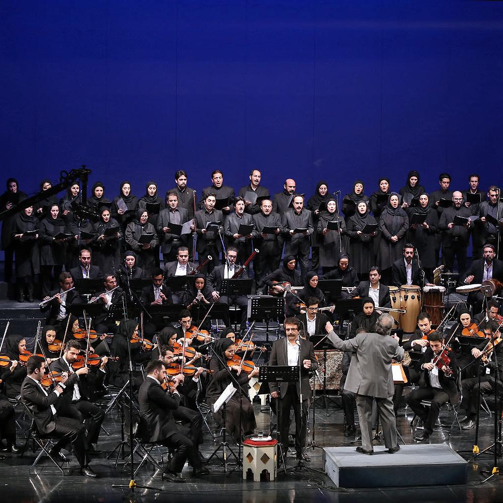 ارکستر ملی به رهبری «آقاوردی پاشایف» روی صحنه رفت