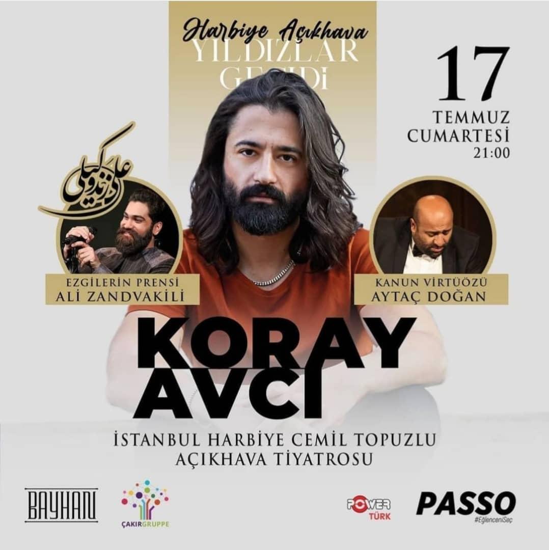 کنسرت مشترک علی زندوکیلی و خواننده سرشناس ترکیه